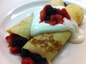 Berry Good Crepe
