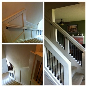 Our New Staircase Railing